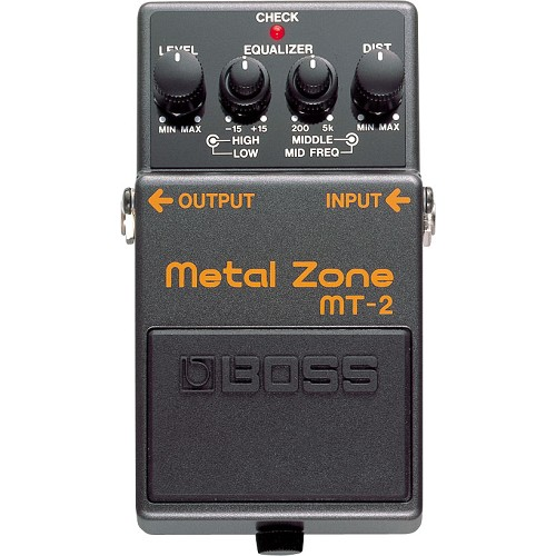BOSS Guitar Effect Metal Zone [MT-2] - Gitar Stompbox Effect